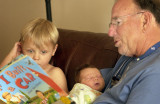Papa and his grandkids