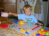 This is serious playdough