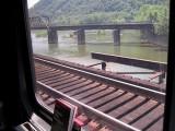 Crossing the bridge at Harper's Ferry