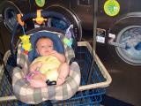 First trip to the laundromat