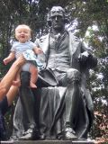Simon visits Mr. Jefferson in Charlottesville