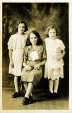 Mom  & Sisters - 1933