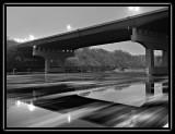 ice flow under the bridge - brent