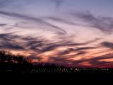Swirly Sunset Over MSP Airport-Shirley