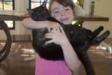 Kyla Holding Cherry Blossom