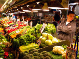 Pike Place Market - veggie stand