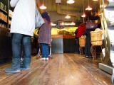 First Starbucks - interior