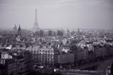 View from Notre Dame de Paris