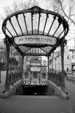 Abbesses Metro Entrance