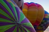 evening balloons