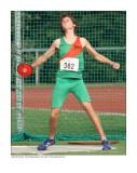 NK meerkamp (National athletics combined events championships) junioren 2009