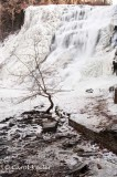 December at Ithaca Falls