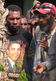 Obama in PNG