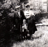 Gram, me and Mom  1947