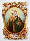 Saint Peter ceramic image