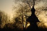 Pergoda sunset