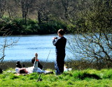Fishing at  Castlewellan