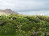 view from my hotel room, Diamondhead