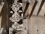 detail, carved door