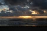 Cannon Beach Golden Sunset