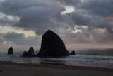 Haystack Rock Sunset1