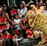 Scary Lion Dance