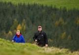 Margaret & Gordon emerge into view