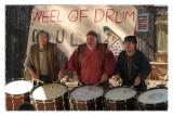 Three Guys and a Bunch of Drums