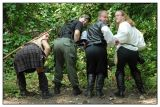 The Merry Men Show Off Their Assets