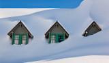 Mt. Rainier  Paradise Lodge Vanishing Gables
