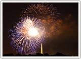 Washington DC July 4th Fireworks 2009