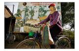 Wallpaint and biker