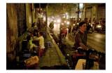 Hanoi Streets at Night.
