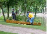 Gorgeous Cedar Strip Canoe-Rutland Iowa