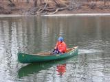 Winter Canoe Geared Up