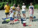 Group on Sandbar