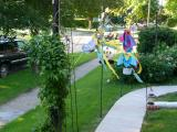 Summer Garden Decorations at Our House in Beaverdale