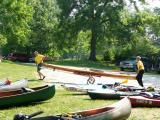 Kayak Carts at Bentonsport