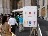 Entrance to Basilica di San Pietro