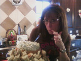 Sherie and...bread dip?!