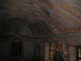 Chapel in the former bishop's summer palace in Sumeg (previously bricked in to protect from the Russians).