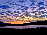 Sunset on Mann Lake