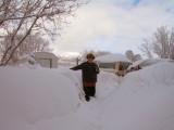 How deep is the snow?