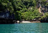 Hong Island, hidden beach