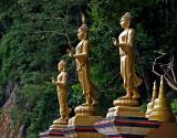 Walking Buddhas