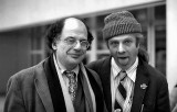 1977 - Poets Allen Ginsberg and Peter Orlowsky