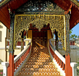 Prayer hall stairs
