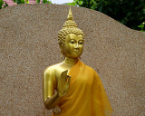 Standing Buddha image