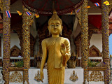 Large standing Buddha image