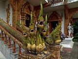 Nagas (sacred serpents)